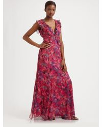 Nanette Lepore | Pink Shimmy Dress | Lyst