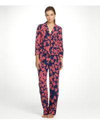 Tory Burch - Blue Luella Pyjama Set - Lyst