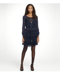 Tory Burch | Blue Myrtle Dress | Lyst