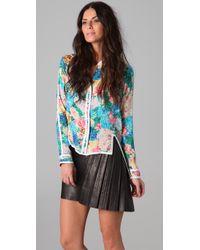 Zimmermann | Multicolor Idyllic Taped Shirt | Lyst