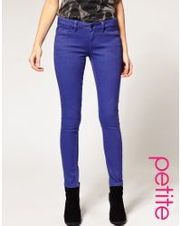 ASOS Collection | Asos Petite Liberty Blue Skinny Jeans | Lyst