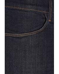 J Brand | Blue 620 Power Stretch Mid-Rise Skinny Jeans | Lyst