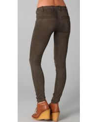 Marc By Marc Jacobs - Green Standard Supply Military Legging Jeans - Lyst