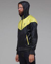 Nike - Black Windrunner Jacket for Men - Lyst