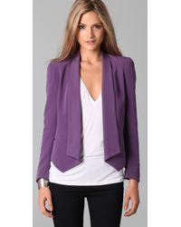 Rebecca Minkoff | Purple Becky Jacket | Lyst