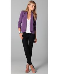 Rebecca Minkoff - Purple Becky Jacket - Lyst