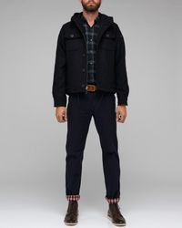 Spiewak | Black Barrow Cpo Jacket in Navy for Men | Lyst