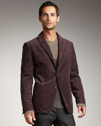 Theory | Purple Two-button Blazer for Men | Lyst