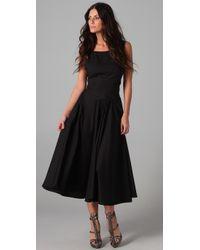 Zimmermann | Black Halcyon Sun Dress | Lyst