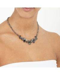 Astley Clarke - Blue 'cosmos' Diamond Locket Pendant Necklace - Lyst