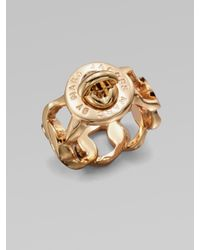 Marc By Marc Jacobs   Metallic Katie Turnlock Ring/rose Goldtone   Lyst
