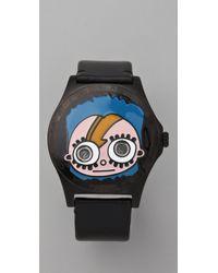 Marc By Marc Jacobs | Black Mr. Marc Sidney Watch | Lyst