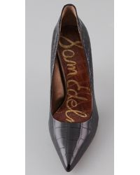 Sam Edelman - Black Portney Pumps - Lyst