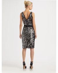Callula Lillibelle | Black Sequined Dress | Lyst