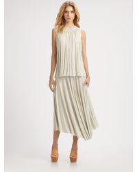 Chloé | White Jersey Dress | Lyst