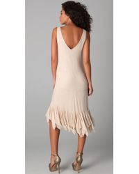 Gryphon - Natural Flutter Dress - Lyst