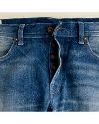 J.Crew | Blue Wallace & Barnes Slim-fit Jean in Salt Fade Wash for Men | Lyst