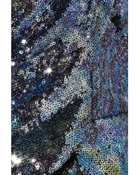 Vivienne Westwood Red Label | Blue Sequined Corset Top | Lyst