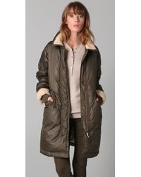 Marc By Marc Jacobs - Green Earhart Puffer Coat - Lyst