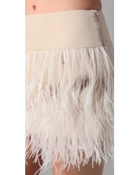 By Malene Birger | Natural Alexandrie Feather Skirt | Lyst