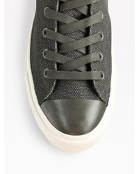 Converse | Gray Chuck Taylor Coated Canvas High-tops for Men | Lyst