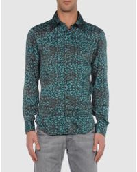 Just Cavalli | Gray Shirt for Men | Lyst