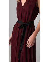 Twelfth Street Cynthia Vincent - Purple Floor Length Pleated Dress - Lyst