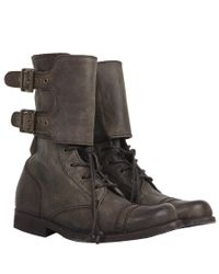 AllSaints - Black Damisi Boot - Lyst