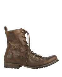 AllSaints - Brown Alpine Boot for Men - Lyst