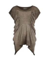 AllSaints | Brown Tilly Tee | Lyst