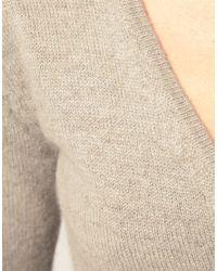 ASOS Collection | Gray Asos Ballet Wrap Cardigan | Lyst