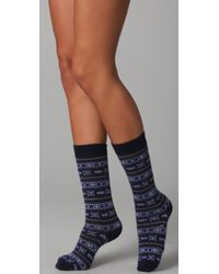 Falke | Blue Seasons Fairisle Socks | Lyst
