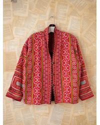 Free People | Thai Hand Embroidered Jacket | Lyst