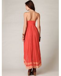 Free People - Pink Fp One Sunburst Maxi Dress - Lyst