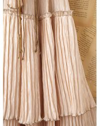 Free People - Natural Vintage Mary Mcfadden Gown - Lyst