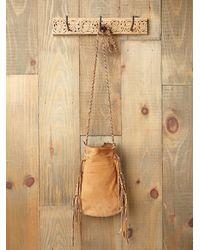 Free People - Brown Lakota Bead Bag - Lyst