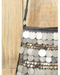 Free People - Metallic Dancing Coins Crossbody Bag - Lyst