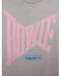 Free People | Gray Vintage David Bowie Rock Tee | Lyst