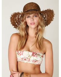 Free People | Multicolor Printed Rose Bandeau | Lyst