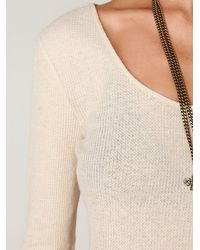 Free People | Natural Thermal Love Crop Top | Lyst