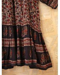 Free People - Multicolor Fp Vintage 70s Boho Printed Dress - Lyst