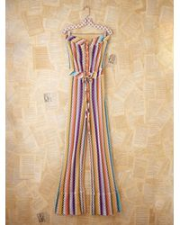 Free People - Multicolor Vintage Missoni Jumpsuit - Lyst