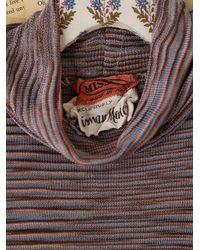Free People - Multicolor Vintage Missoni Turtleneck - Lyst