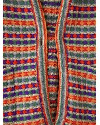 Free People | Multicolor Vintage Striped Cardigan | Lyst