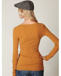 Free People | Brown Love And Harmony Sweater | Lyst