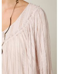 Free People - Natural Angel Doll Dress - Lyst