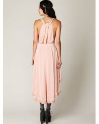 Free People | Pink Fp New Romantics Persephone Drape Dress | Lyst