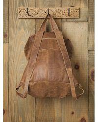 Free People - Brown Belmont Backpack - Lyst