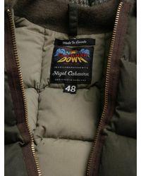 Nigel Cabourn - Green X Eddie Bauer Men S Goose Down And Coyote Fur Desert Wax Vest for Men - Lyst