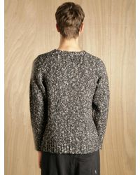 Nonnative - Gray Mens Voyager Sweater for Men - Lyst